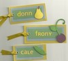 Fruit Placecards photo